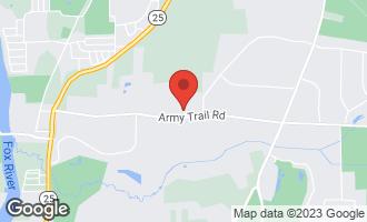 Map of 34W791 Army Trail Road WAYNE, IL 60184