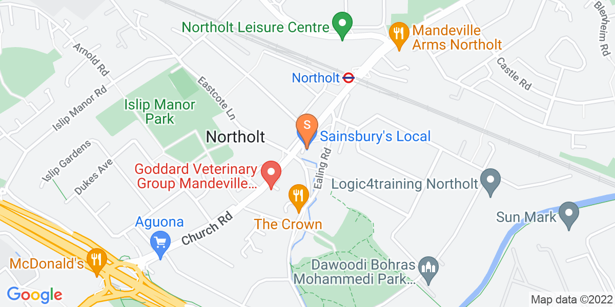 Google Map of 35 Mandeville RoadNortholt Ealing UB5 5HF
