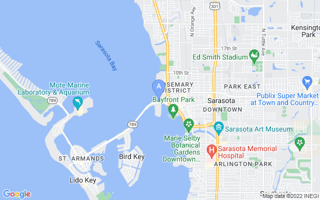 35 Watergate Dr #ph-1802 Sarasota Florida 34236 locatior map