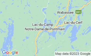 Map of Camping L'escargot