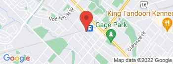 Google Map of 35+Railroad+Street%2CBrampton%2COntario+L6X+1G3