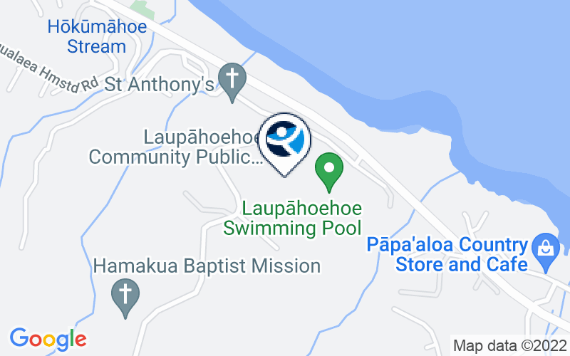 Big Island Substance Abuse Council Laupahoehoe Community Location and Directions