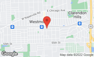 Map of 35 East Quincy Street WESTMONT, IL 60559