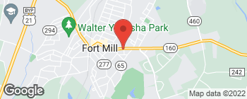 Mapa de 318 Tom Hall St en Fort Mill