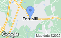 Map of Fort Mill, SC