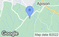 Map of Apison, TN