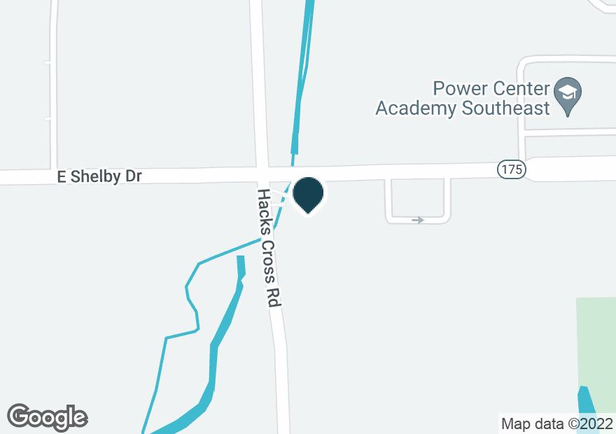 Google Map of8035 E SHELBY DR