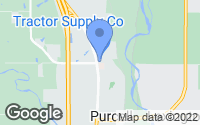 Map of Purcell, OK