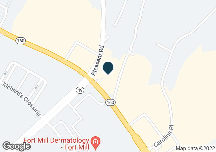 Google Map of1716 PLEASANT RD