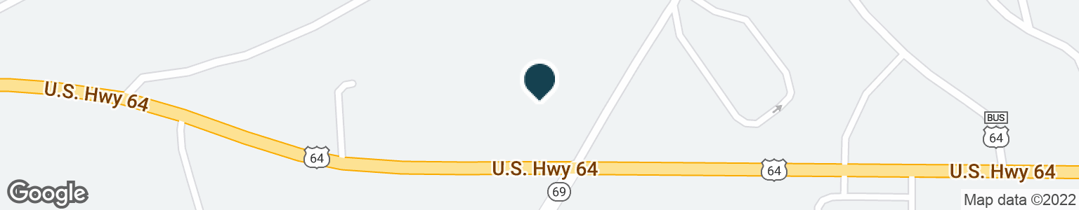 Google Map of44 HIGHWAY 64 W