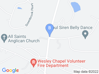 Map of DSL   Dog as a Second Language Dog Boarding options in Matthews | Boarding