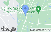 Map of Boiling Springs, SC