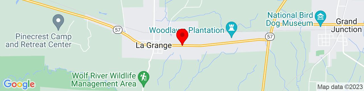 Google Map of 35.0452803, -89.2350206