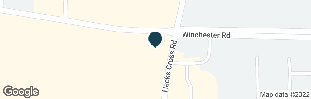 Google Map of8001 WINCHESTER RD