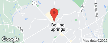 Map of 110 Rainbow Lake Rd in Boiling Springs