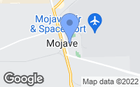 Map of Mojave, CA