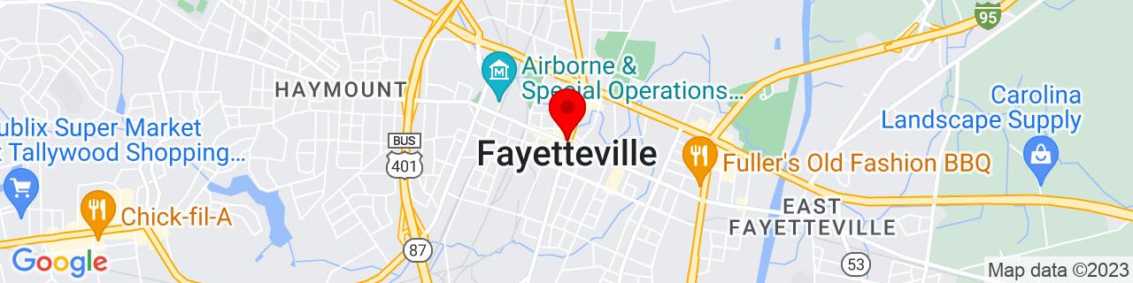 Google Map of 35.05277777777778, -78.87833333333333