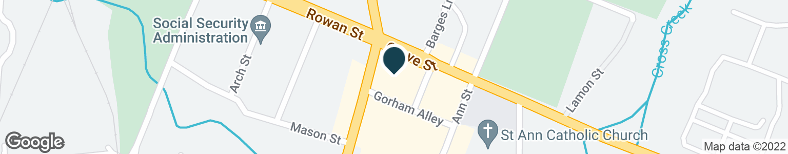Google Map of110 GROVE ST