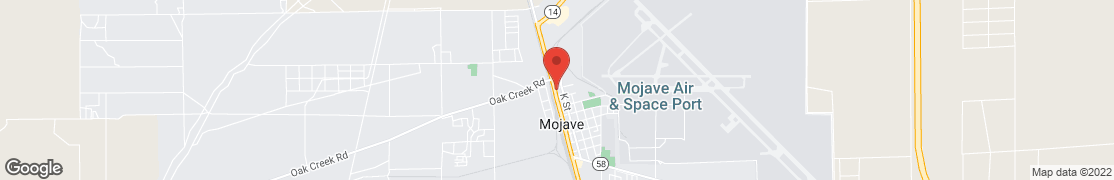 Map of 16262 Sierra Hwy in Mojave