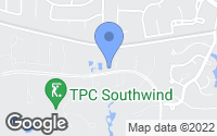 Map of Memphis, TN