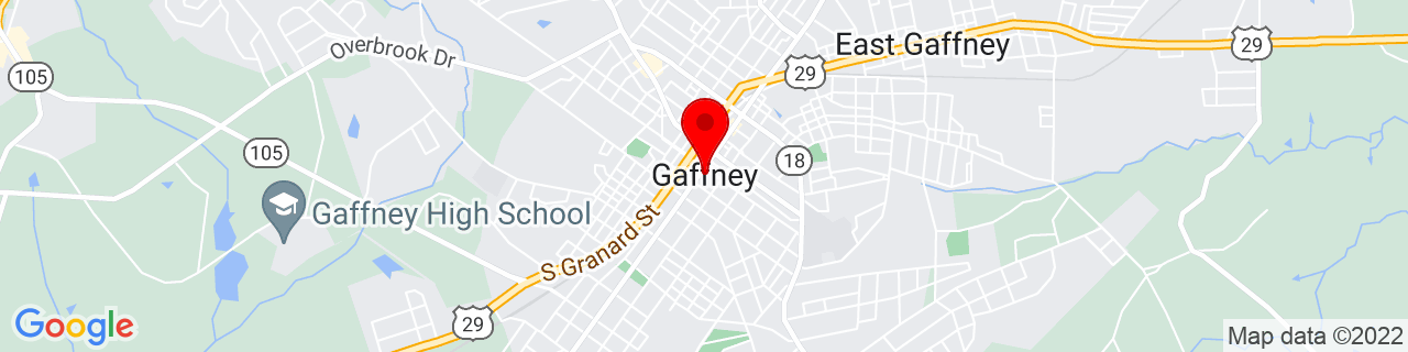 Google Map of 35.0717945, -81.64981949999999