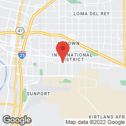 Albuquerque Tailor Shop on the map