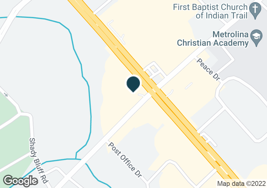 Google Map of13720 INDEPENDENCE BLVD