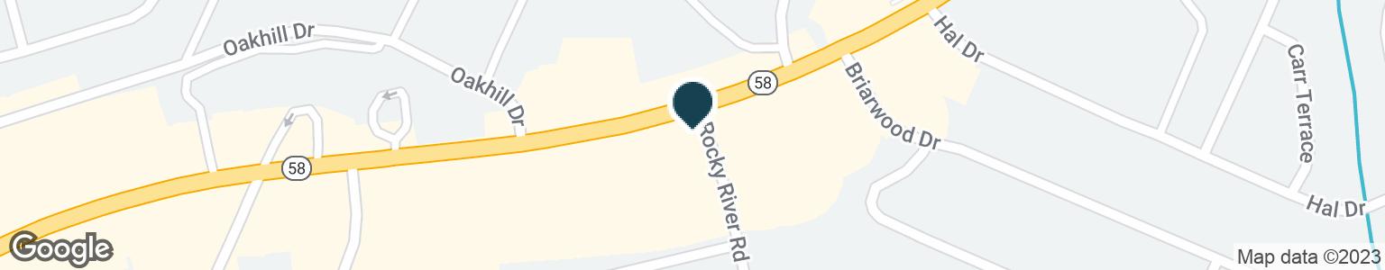 Google Map of4542 HIGHWAY 58