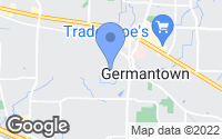 Map of Germantown, TN
