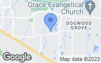 Map of Germantown, TN