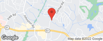 Map of 6211 Carmel Rd in Charlotte