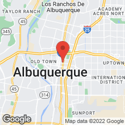 Albuquerque Mail Service on the map