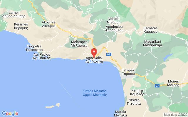 Google Map of AGIA GALINI