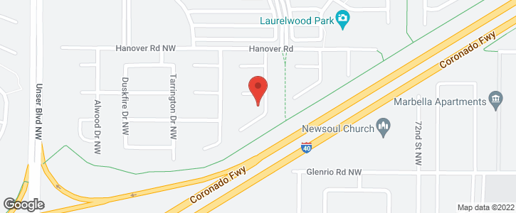 1309   TANGLEWOOD  NW Place Albuquerque NM 87120