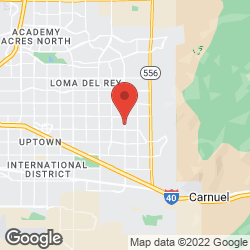 Albuquerque Golf Discount on the map