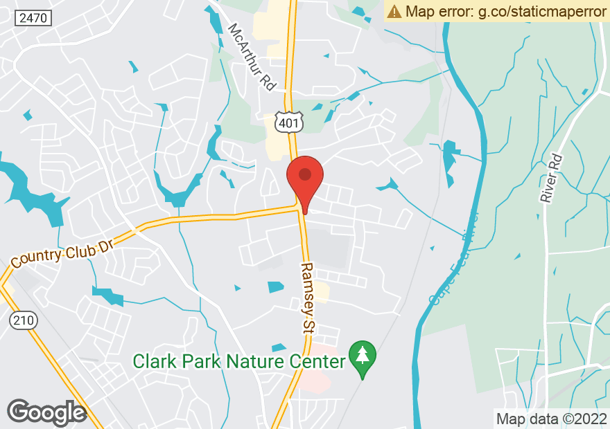 Google Map of 3300 RAMSEY ST
