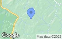 Map of Rosman, NC