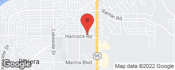 Map of 1335 Hancock Rd in Bullhead City