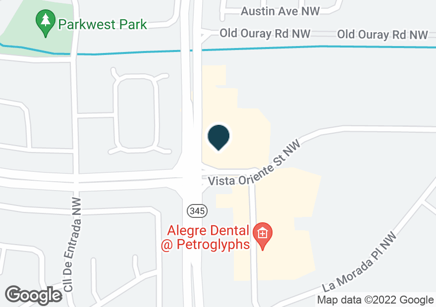 Google Map of2200 UNSER BLVD NW