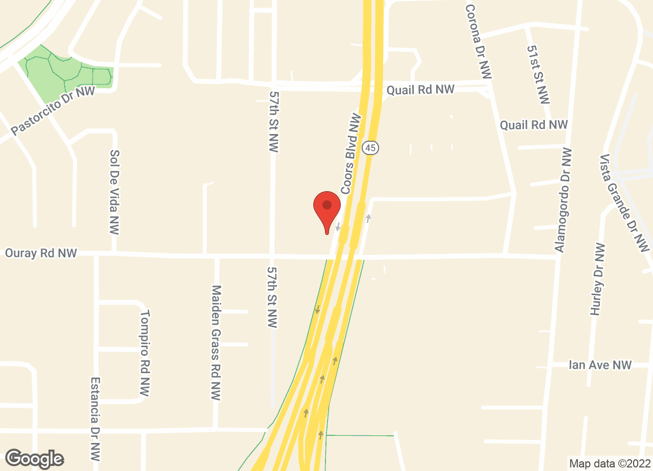 Google Map of VCA West Mesa Animal Hospital