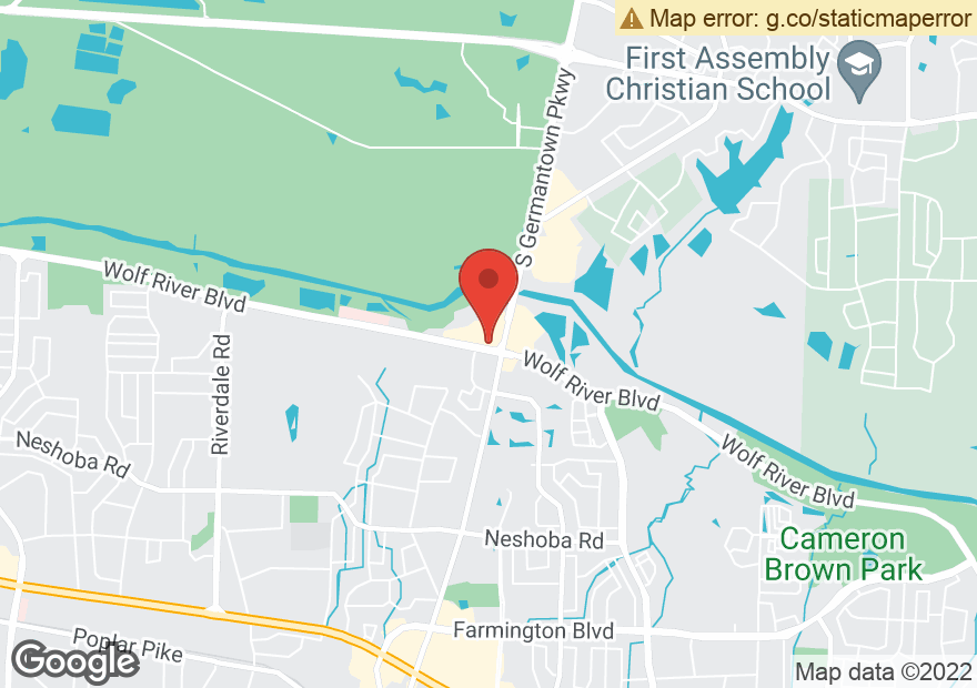 Google Map of 7790 WOLF RIVER BLVD