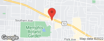Map of 579 S Perkins Rd in Memphis