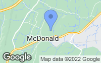 Map of McDonald, TN