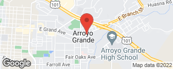 Mapa de 705 E Grand Ave en Arroyo Grande