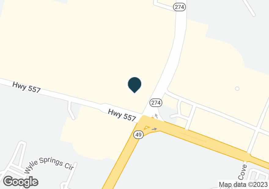 Google Map of5220 HIGHWAY 557