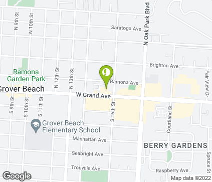 Map of 1551 Grand Ave in Grover Beach