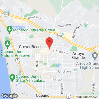 Map of Rite Aid at 1690 East Grand Avenue, Arroyo Grande, CA 93420