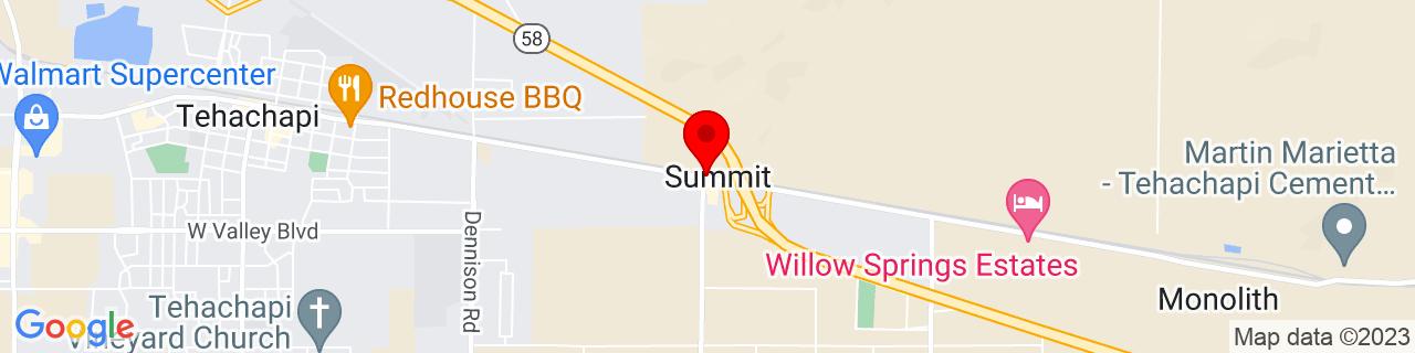 Google Map of 35.12774, -118.41397