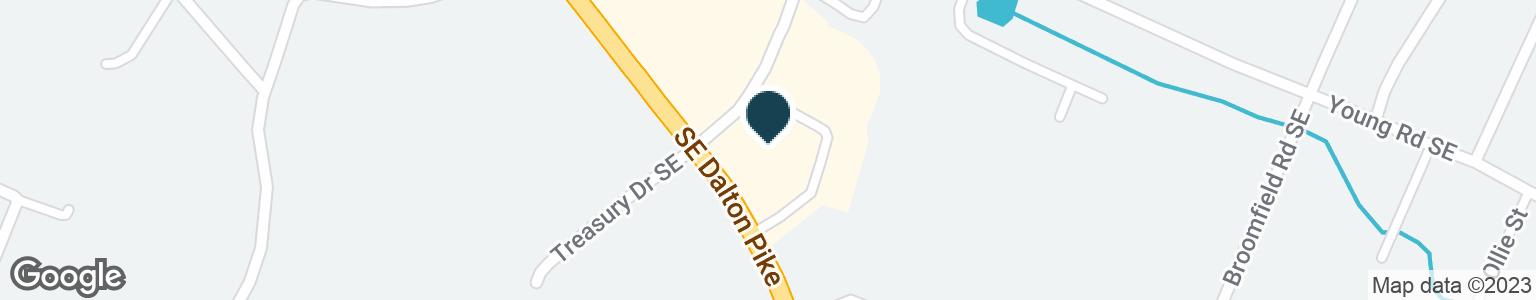 Google Map of2399 MCGRADY DR SE