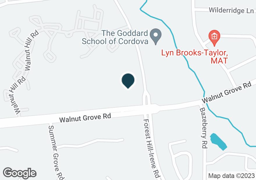 Google Map of9028 WALNUT GROVE RD